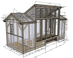 Shed plan 12 x 12 plans for building a shed,barn shed house plans create your own garden shed,shed plans lean to plans for a utility shed. Free House Plans, Small House Plans, Micro House Plans, Free Plans, Patio Roof Covers, Lean To Shed Plans, Plans Architecture, Architecture Design, Solar House