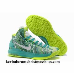 official photos ca5ed 5e742 Authentic 554988 003 iD Offers New Graphic Pattern White Gorge Green Nike  Zoom KD 5 Outlet