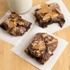 Craving Chocolate? Try this rich and gooey Nutella Butter Bars Recipe.