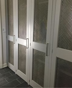 New Chicken Wire Cabinet Door Inserts