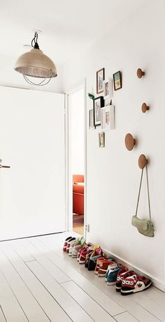 round wood coat hooks hangers - Google Search