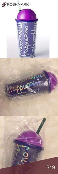 Frappuccino® Cold Cup - Purple, 16 fl oz Frappuccino® Cold Cup - Purple, 16 fl oz. Sold out style and color. Super cute. Brand new still in plastic. Would make a great Christmas gift for Starbucks lovers! starbucks Accessories