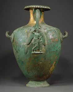 Bronze hydria (water jar), 4th century b.c.; Classical Greek Bronze MET