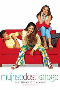 Mujhse Dosti Karoge! (2002) Indian Movies Bollywood, Bollywood Movies Online, Bollywood Posters, Bollywood Couples, Hindi Movie Film, Movies To Watch Hindi, Hindi Movies Online Free, Download Free Movies Online, Dosti Film