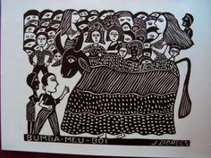 Blog de memorialjborges :J. BORGES xilogravurista e cordelista, Bumba meu Boi