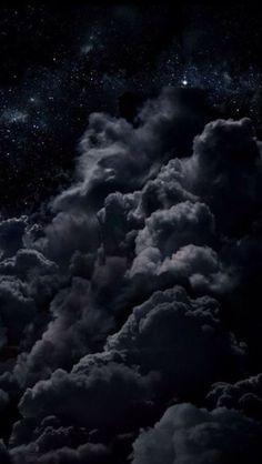 black clouds #wallpaper