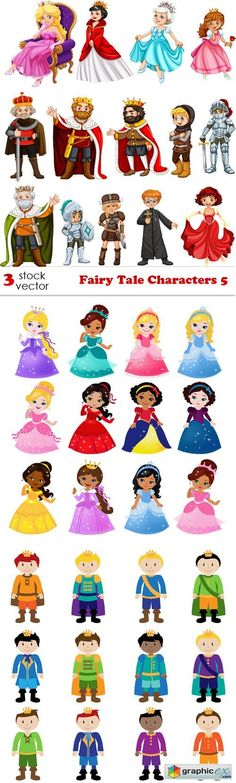 Fairy Tale Characters 5