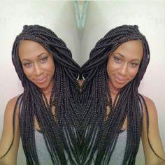 Braids shared by @braidsbyguvia - http://www.blackhairinformation.com/community/hairstyle-gallery/braids-twists/braids-shared-braidsbyguvia/ #braids #protectivestyling