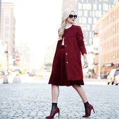 Wie man Jacken und Mäntel über Kleidern trägt   POPSUGAR Deutschland Mode
