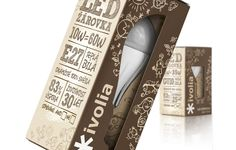 Packaging of the World: Creative Package Design Archive and Gallery: Ivolia LED bulbs