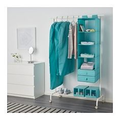 IKEA - SKUBB, Clothes cover, set of 3, light blue, -, , Protects your clothes from dust.