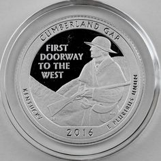 2010-S Silver Hot Springs National Park Proof in Crystal Clear Capsule