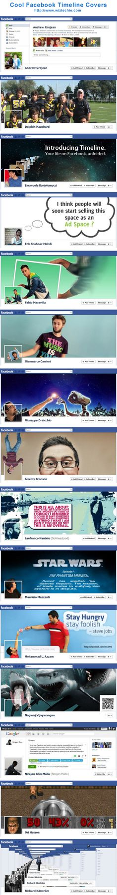 Cool Facebook Timeline Covers + Download FREE Facebook Timeline Template for your Cover Page