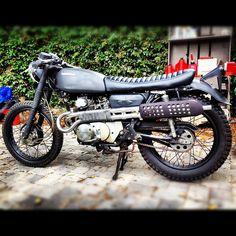 1971 Honda CL175 Zombie Armageddon bike
