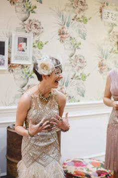 Melita and Richard's Beautiful Art Deco Wedding