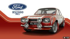 Ford Escort RS2000 Mk1.