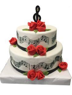 Happy birthday music cake Happy Birthday Pinterest