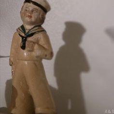 Vintage sailor figurine
