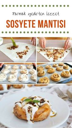 "The post ""How to make a society ravioli recipe? Here is the illustrated description of the Socialite Ravioli Recipe in the book of people and the photos of the experimenters. Author: Elif Atalar"" appeared first on Pink Unicorn Nudeln Ravioli Recipe, Iftar, Turkish Recipes, Food Lists, No Cook Meals, Cookie Recipes, Paleo Cookies, Yummy Food, Delicious Recipes"