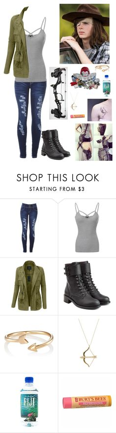 """Kain (Grimes) // The Walking Dead"" by kain-loves-shawn ❤ liked on Polyvore featuring Episode, LE3NO, Philosophy di Lorenzo Serafini, Finn, Sydney Evan and Burt's Bees"