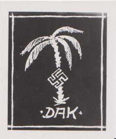 DAK (German Africa Corps) symbol