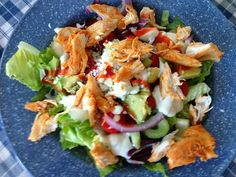 Snowmanlover's Paperie: Simply Sunday~Barb's Buffalo Chicken Salad