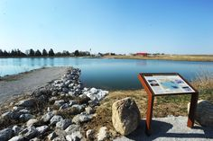A view of the new Dakins Lake in Zearing. The park, which has been under construction since fall 2013, is expected to open later this spring. Story County Conservation staff and volunteers will be planting 154 trees throughout the park on Wednesday for Earth Day. Photo by Nirmalendu Majumdar/Ames Tribune