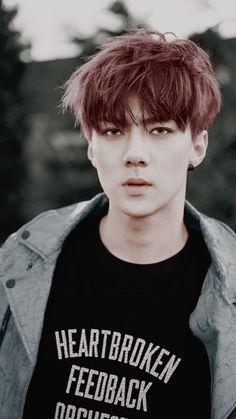 |EXO| SEHUN #exo #Sehun // ugh you freaking handsome human being