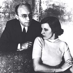 Lotte lenya and husband Kurt Weil