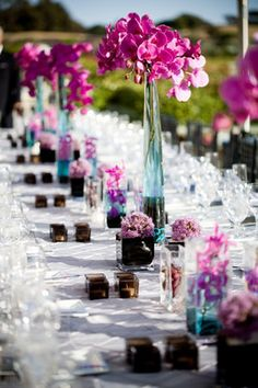 Wedding Reception Tables & Venue