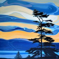 Canadian A Kelowna resident, Erica studied art and design at Colorado institute of art, finished up with design degree in Vancouver. She has worked in a variety of mediums including pencil,. Abstract Landscape Painting, Abstract Nature, Abstract Canvas, Landscape Art, Landscape Paintings, Contemporary Landscape, Contemporary Artists, Canadian Artists, Canadian Painters