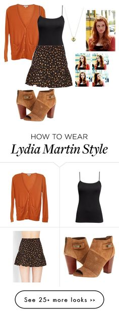 """Lydia Martin (Teen Wolf)"" by learning-to-love on Polyvore featuring Dolce Vita, Clu, H&M and Forever 21"