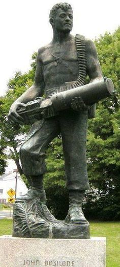 John Basilone (November 4 1916 February 19 1945) was a United States Marine Gunnery Sergeant who received the Medal of Honor for his actions at the Battle of Guadalcanal during World War II. He was the only enlisted Marine in World War II to receive both the Medal of Honor and the Navy Cross.