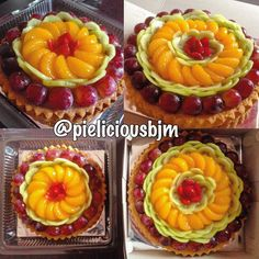 Pie buah uk 24cm full buah  pie buak uk 18cm full buah  #pie #pielicious #pieliciousbjm #piebuah #fruitpie #strawberry #kiwifruit #orange #grape #dessert #like4like #instabanjar #instabungas #banjarmasinpie #piebanjarmasin #kulinerbanjarmasin #jualanpie #banjarmasinfood #banjarmasinonly #banjarmasinshop #banjarmasinbungas #foodporn #foodstagram