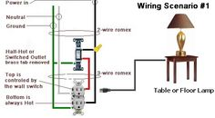 Ceiling fan light kit wiring diagram maintenance pinterest fan how to wire a switched outlet with wiring diagrams asfbconference2016 Images