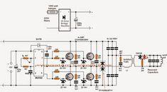 The post explains a simple full bridge Induction Heater circuit using IGBTs. Induction Heating, Diy Tech, Circuit Projects, Magnetic Field, Bridge, Floor Plans, Amp, Bridge Pattern, Bridges