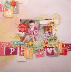 Life. Paper. Scrapbook. : February Sketch Challenge - Alexandra Polyzou