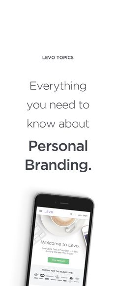 Personal Branding: Painting the picture of who you are and where you want to be is critical.