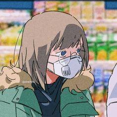 Aesthetic Anime, Aesthetic Art, Cute Anime Pics, Art Japonais, Cute Icons, Animes Wallpapers, Anime Art Girl, Cute Drawings, Kawaii Anime