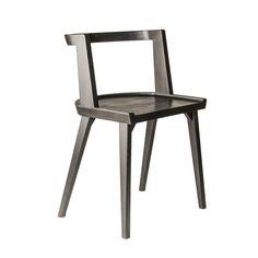 Стул CH-AIR чёрного цвета  в скандинавском стиле. Стул из бука. Стул CH-AIR отлично подходит для кафе, баров и ресторанов. Надёжный, крепкий и стильный.
