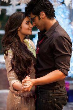 Arjun Kapoor, Alia Bhatt ----'2 States'