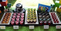Teletubbies Party Dessert Table Baby Birthday, First Birthday Parties, Birthday Party Themes, First Birthdays, 21st Birthday, Birthday Ideas, Party Time, Party Party, Party Desserts