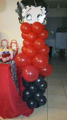 Betty Boop Birthday Party Ideas | Photo 1 of 20