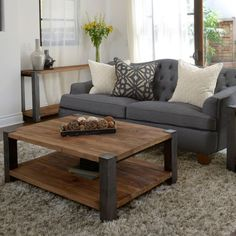 Coffee table idea would also make a nice padded table on top for