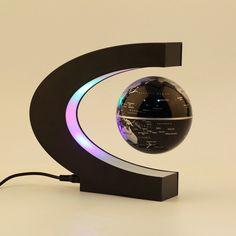Electronic Magnetic Levitation Floating Globe  #coollittleshop