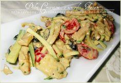 Insalata di Pollo al Curry con Maionese è un piatto unico, saporito e colorato, per una ricetta semplice, fresca e di rapida esecuzione, è quindi l'ideale..