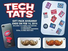 www.facebook.com/techtats #FREE #giveaway #contest