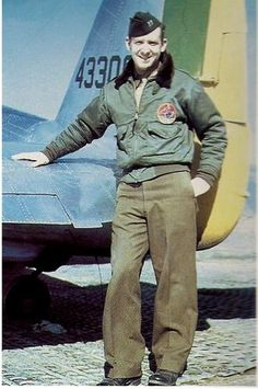 USAAF Major John W Buyers was the liasion officer between the 1st Brazilian Fighter Group and USAAF