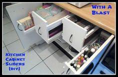 organizing, kitchen cabinets
