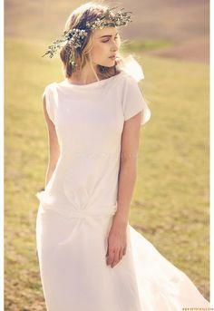 Schlichtes Hochzeitskleid Brautkleid aus Hamburg von Amare